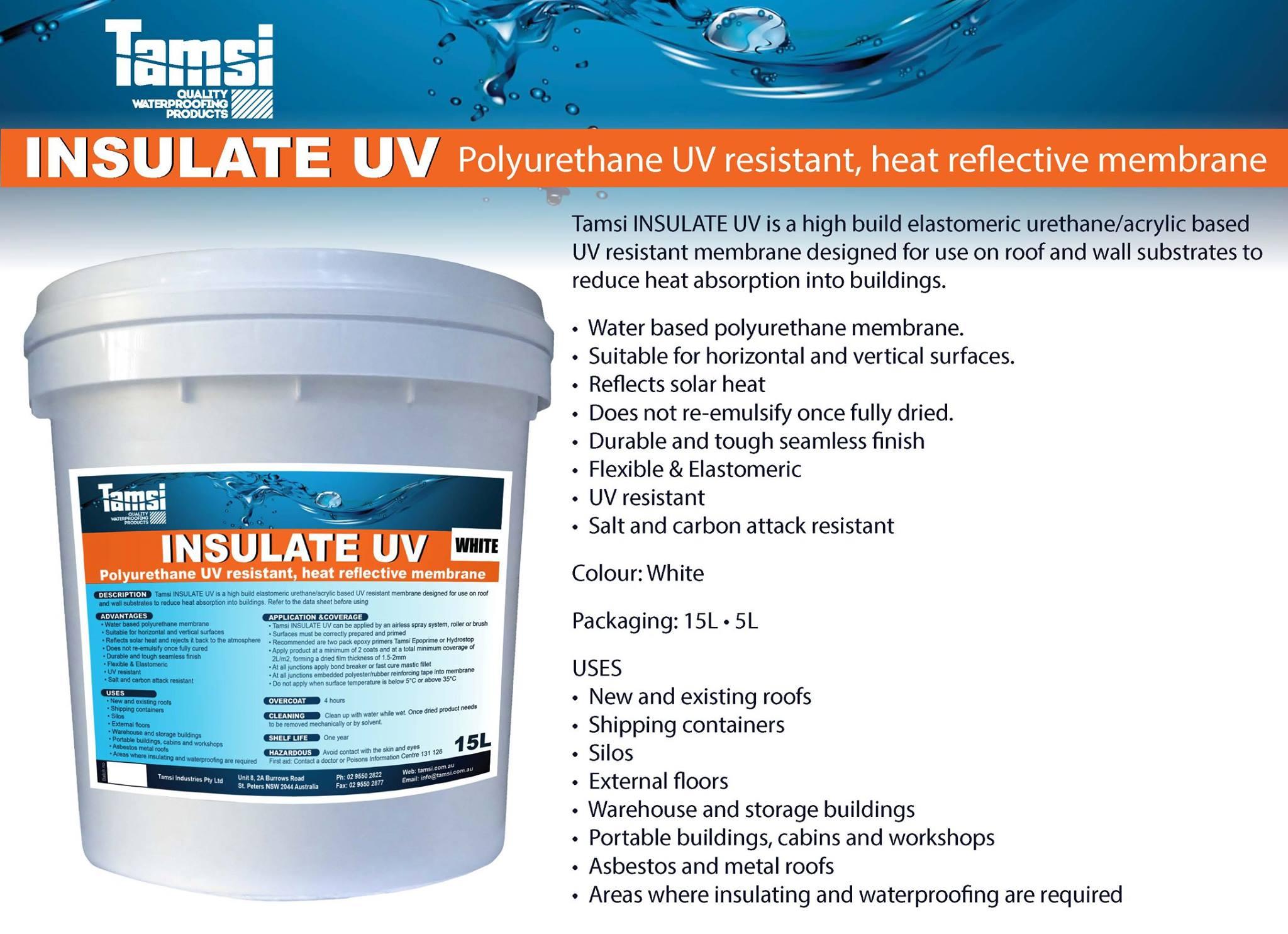 Elastomeric Roofing Membrane : Waterproofing membrane wollongong