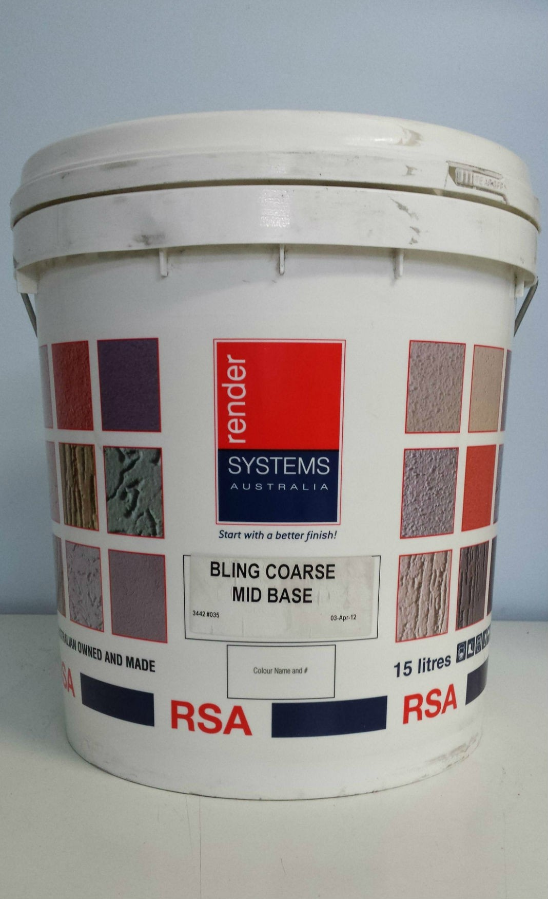 RSA Bling Coarse