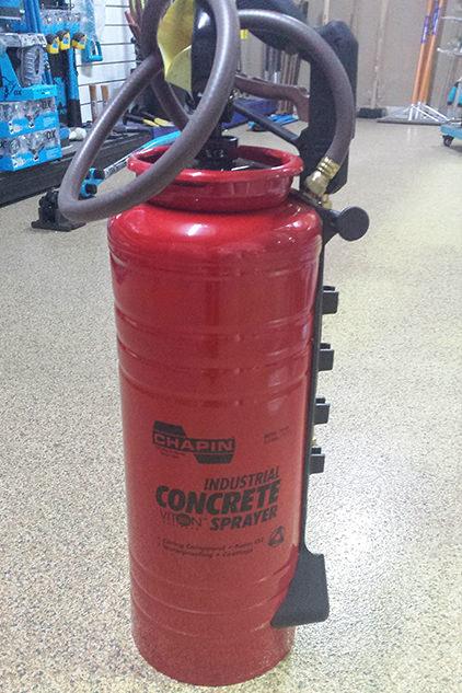 Chapin Concrete Sprayer