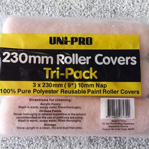 230mm Roller Sleeves 3xPack