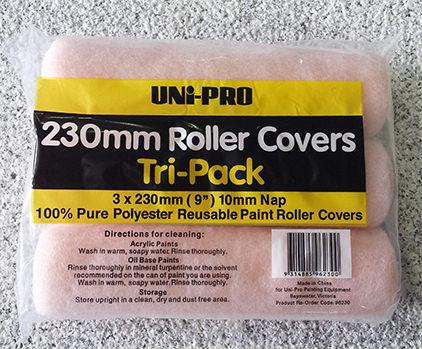 230mm Roller Sleeves 3xPack