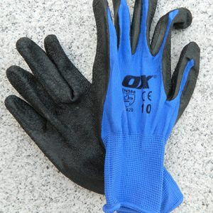 OX Safety Latex Gloves